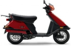 Honda Elite 80 Motor Scooter