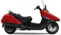 Honda Helix Motor Scooter